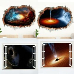 SPACE GALAXY STARS PLANETS UNIVERSE 3D🔥WALL STICKERS KIDS BOY ROOM HOME DECOR🔥 $10.99