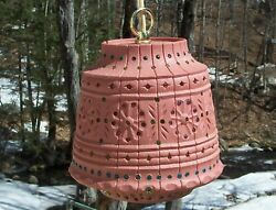 Camping Vintage Lawnware Hanging Plug in Lamp Light Beaded Outdoor Patio Large $44.99