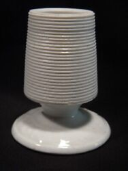 Antique White Ironstone Tabletop Bar Match Striker Holder : 3 inches high $50.00