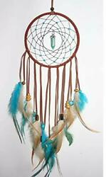 Dream Catcher Handmade Feather Wall Hanging for Kids Home Decoration $8.49