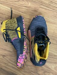 Size 12 Mens adidas Dame 5 Black Shock Pink 2019 Damian Lillard Basketball shoes $60.00