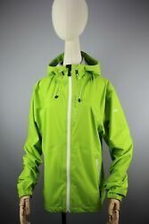 KJUS Systems Ladies fasttrack 3L jacket Hooded Womens Light Green size 44 2XL $130.00