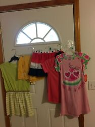 BRAND NEW LOT OF 5 GIRL#x27;S SIZE 10 12 CLOTHING $21.99