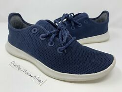 Allbirds Tree Runners Mens Size 12 Navy Blue Shoes Athletic Sneakers EUC $29.99