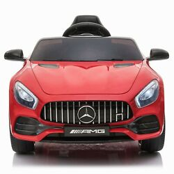 Electric Kids Ride On Car Toy Mercedes Benz GT Licensed MP3 Remote Control 12V $155.99