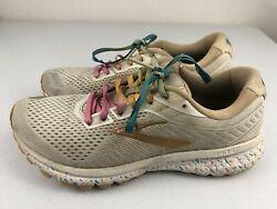 Brooks Ghost 12 Womens Limited Edition Vanilla Sprinkles Size 9 Running Shoes $39.96