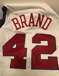 Elton Brand Clippers signed NBA jersey Champion Size 48 $130.00