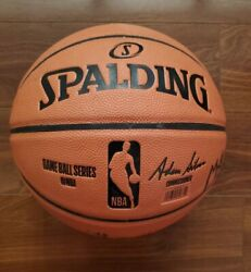 Spalding NBA Replica Game Ball Basketball Full Size 29.5quot; GOOD CONDITION $29.99