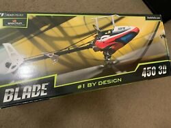 Blade 450 3D Remote Control Helicopter Ready to Fly Radio Battery Charger $455.00