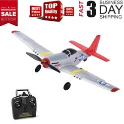 RC Mustang P 51D Ready To Fly 4 Ch RC Plane RC Quadcopter Flight Stabilisation $89.99