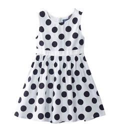 Dress For Children Dots Printed Girls Party Dresses $36.50