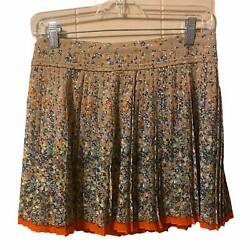 Floral Pleated American Eagle Swing Skirt Size 2 $12.90