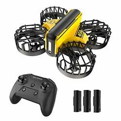 Mini Drone Hand Operated and Remote Control Nano Quadcopter for Kids 3 Battery $39.99