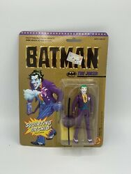 NEW 1989 Toy Biz THE JOKER Squirting Orchid Figure Batman Movie SEALED MOC $39.99