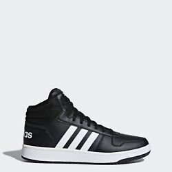 adidas Hoops 2.0 Mid Shoes Men#x27;s $52.00