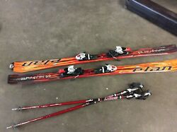 Elan Magfire 10 Fusion Skis in SporTube with Scott Ski Poles $589.88