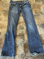 """Miss Me Bootcut Womens Low Rise Jeans 30x33 """"JP4906BC"""" $37.99"""