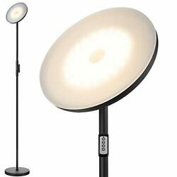 Modern Torchiere 3 Color Temperatures Super Bright Floor Lamps Tall Standing $87.66