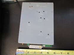 BOARD for ROHDE amp; SCHWARZ EMI RECEIVER AF UNIT 809.8518.02 amp;B5 A 17 $349.00