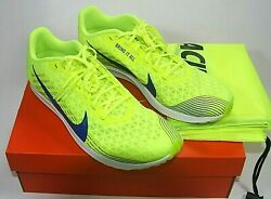 Nike Zoom Rival Waffle Size 10.5 XC Cross Country Mens Spikeless Shoes With Bag $45.00