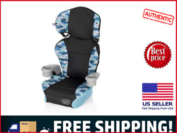 Evenflo Booster Car Seat Big Kid High Back 2 In 1 Belt Positioning Blue New $199.99
