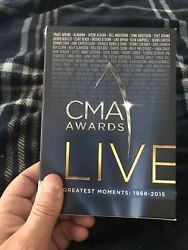 🤠🤠🤠CMA AWARDS LIVE GREATEST MOMENTS 1968 2015 10 Disc DVD Set SEALED 🤠🤠🤠🤠