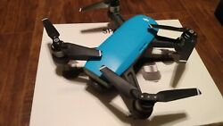 DJI Spark 1080p Camera Drone with Extras Blue $280.00