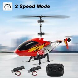 Cheerwing U12 Mini RC Helicopter Remote Control Helicopter with 2 Batteries Red $29.98