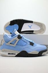 Nike Air Jordan 4 Retro University Blue UNC 2021 CT8527 400 Men#x27;s GS PS TD Sizes
