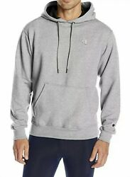 Champion XXL Classic Authentic Athletic wear Pullover Hoodie C Logo Oxford Gray $20.00