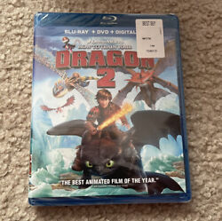 How To Train Your Dragon 2 Blu ray DVD Digital HD NEW SEALED $10.99
