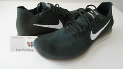 New Men#x27;s Size 11 Nike 2017 RN Flyknit Vintage Green Platinum 880843 300