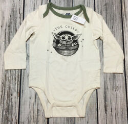 Baby Gap Boys 12 18 Months Shirt Yoda Star Wars The Child Bodysuit Shirt. Nwt $14.99