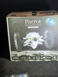 Parrot Mini Drone Jumping Sumo White. Open but never used $50.00