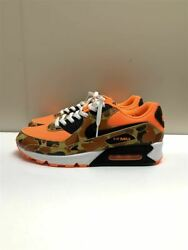 Men 11Us Nike Orange Duck Camo Cw4039 800 Boxed Low Cut Sneakers Orn