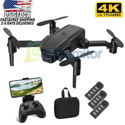 Quadcopter Drone with Wide Angle HD Camera Headless 3D Flips wifi FPV RC $43.19