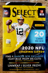 Select 2020 Football NFL Hanger Box Brand New Factory Sealed Rookie RC A $54.00