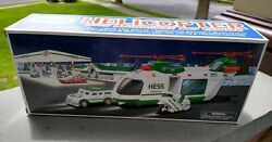 2001 Hess Helicopter With Crusier And Motorcycle NIB Hess Trucks $14.90