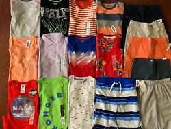 Boys Huge Size 10 12 Clothing LOT Outfits Spring Summer School Old Navy ALL NEW $120.00