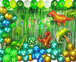 TmppDeco Dinosaur Birthday Party Decoration Set for Kids Dinosaur Party for for $37.41