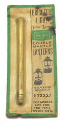 Vintage Sears Double Mantle Lantern Replacement Generator 6 72227 NEW Old Stock $36.99