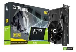 ZOTAC GAMING GeForce GTX 1650 OC 4GB GDDR6 Graphics Card ZTT16520F10L $449.99