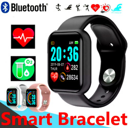 Waterproof Bluetooth Smart Watch Phone Mate Fitness Watch For Android Universal* $17.97