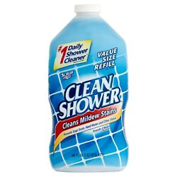 Clean Shower Daily Shower Cleaner Refill 60 Fl Oz $9.75