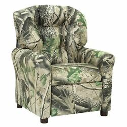 The Crew Furniture® Traditional Kids Microfiber Recliner Chair Multiple Colors $36.99