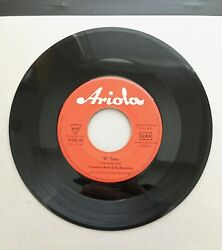 ? amp; The Mysterians #x27;I Need Somebody#x27; b w quot;8 Teenquot; Ariola GERMANY 45 RPM