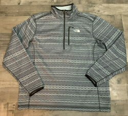 The North Face Better Sweater Jacket Pullover 1 2 Half Zip Men's Size L Zigzag $34.99