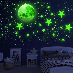 Decors Ceiling Bedroom Wall Decals Glow Stickers Luminous Stickers Home Decor $11.11
