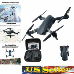 PROMOTION Mini Drone WIFI FPV Dual 4K HD Camera Foldable Arm RC Quadcopter Toy $33.81