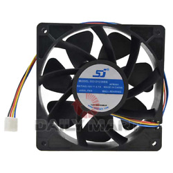 New In Box SJ SG121238BS Antminer Cooling Fan 12V 2.7A $33.83